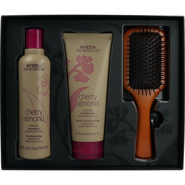 Aveda Cherry Almond Paddle Brush Pakket