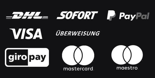logos Zahlungsmöglichkeiten