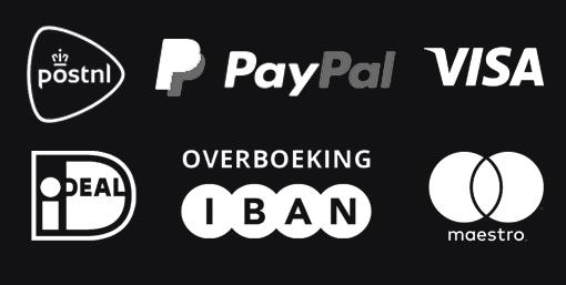 logos van betalingsmogelijkheden